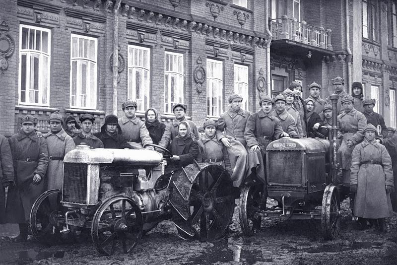 Курсы трактористов (1929 год)