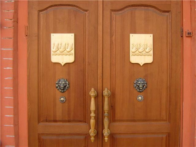 Двери музея