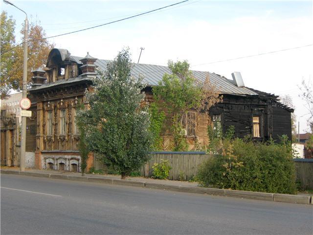 Горел дом Гайдара